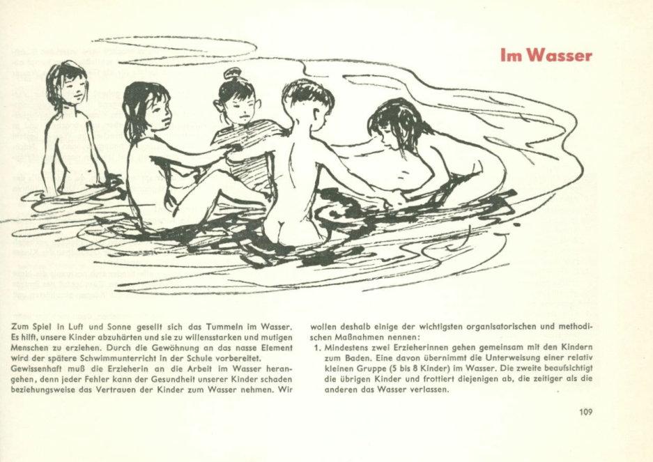 Schwimmunterricht ddr nackt